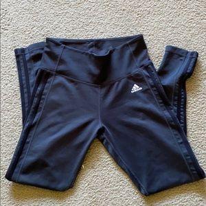 Adidas Dark Grey Leggings Climate Medium